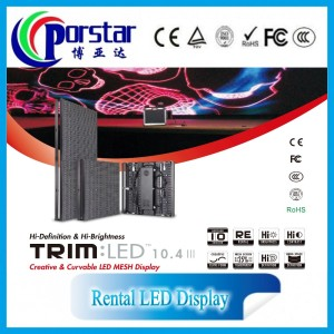 Indoor rental led display P10mm