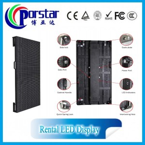 P6 indoor Fullcolor led display for rental