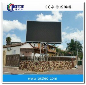 P10mm outdoor advertising led display screen