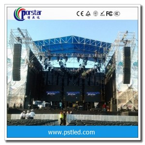 Outdoor Aluminum Rental LED displays P6mm