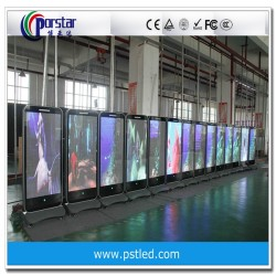 movable led display TV 55