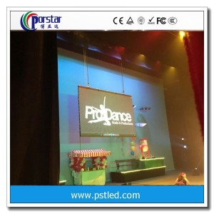 outdoor stage slim rental led display P8