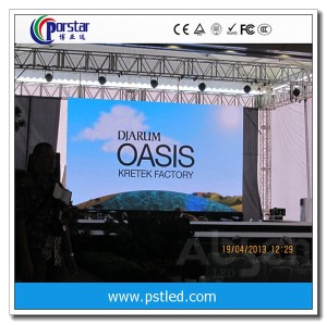 outdoor full-color advertising led screenP6mm