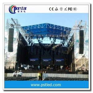 outdoor full-color advertising led screenP8mm