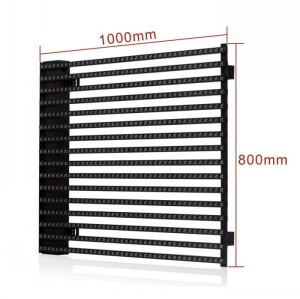 P15.625mm led media facade