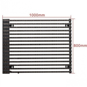 P25 Outdoor LED Media Mesh Screen
