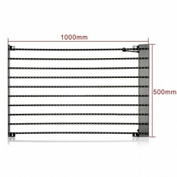 P31.25mm Strip LED Curtain Display Screen