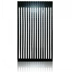 Super light weight building LED media facade