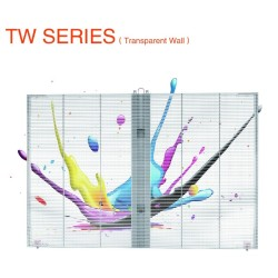 P16mm Outdoor Transparent Led Screen