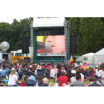 P16mm Virtual Outdoor Rental LED Display