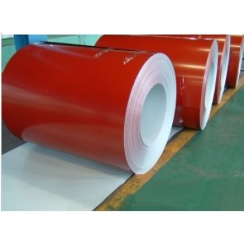 Corrugated sheet made by color coated gi coil used for building construction