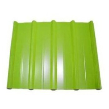 Prepainted steel coil to corrugated sheet for roofing Material