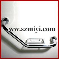bathtub handrail with soap basket