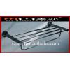 Double metal towel rail