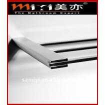 brass chrome double towel rails