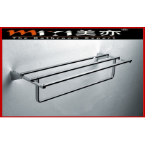 High quality double bath towel rack