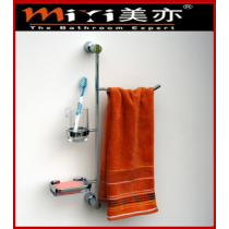 bathroom multi-function towel rack