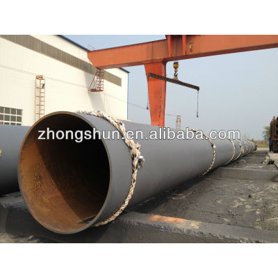 SSAW steel pipe use for construction