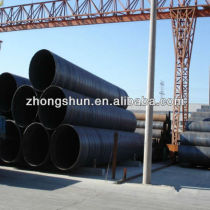 SSAW-ASTMA252 GR3 large diameter steel pipe/tubes
