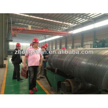 SSAW spiral pipe line API 5L PSL1 PSL2
