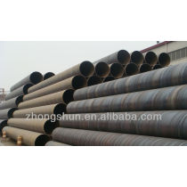 ASTM A252 Spiral Submerged Arc Welded Steel Pipe Piles