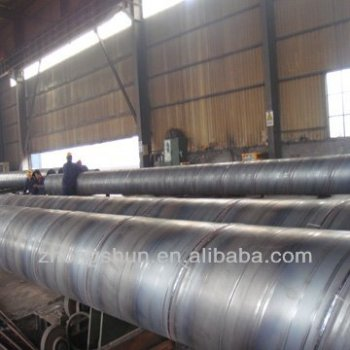 SSAW ASTM A252 STEEL PIPES Q345B