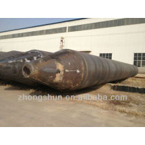 Spiral Welded Steel Pipe welding with piling shoes