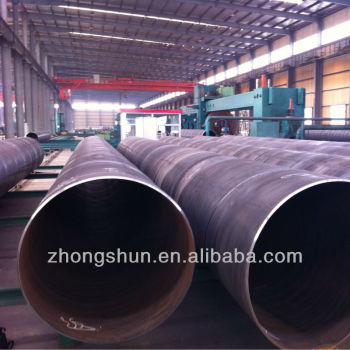 32m Length ASTM A252 GR.3 CS SAW Steel Pipes