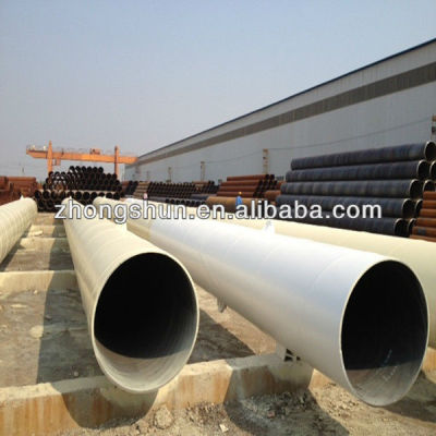 The leading manufacturer of spirally steel pipe