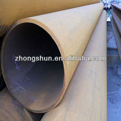 LSAW -ASTMA53 GRB carbon steel pipe/tube