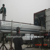 A53 hot dipped galvanized steel pipes