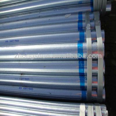 EN 10219 galvanized ERW steel pipe