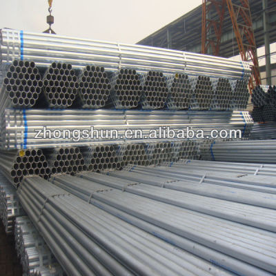 hot dipped Galvanized steel pipe ASTMA53 GR.B