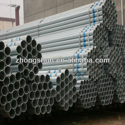ASTM A53 hot dipped Galvanized Welded Steel Pipes