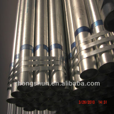 STK400 galvanized steel pipes