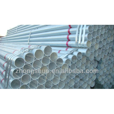 hot dip galvanized steel pipe erw pipes