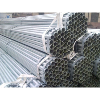 BS1387 Z275g/m2 Zinc Coated Round Pipes