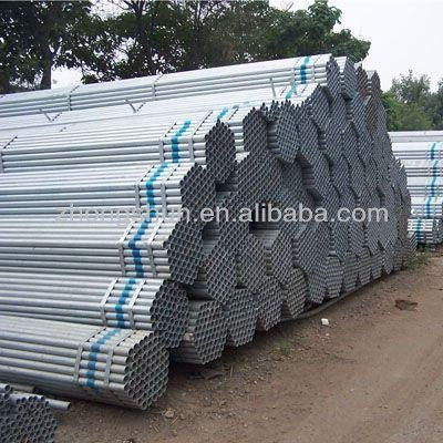 Zinc Coated ERW Pipes ASTM A53 Grade B