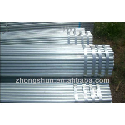astm a53 galvanized steel tubes