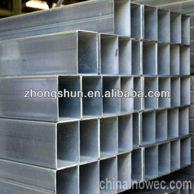 ASTM A500-GRB Rectangular Steel Pipe for structure