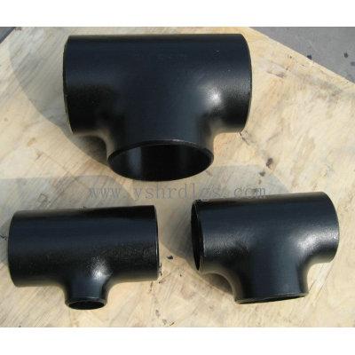 carbon steel pipe reducing tee
