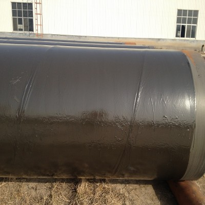 ERW steel pipes with 3PE Anti Corrosion Coating