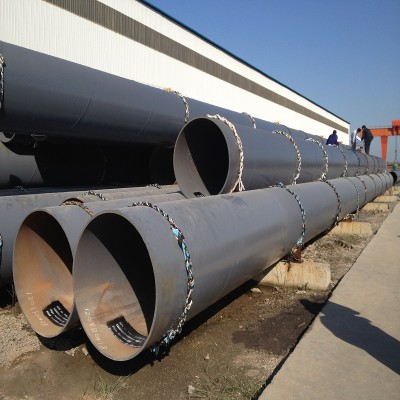 3 Layers PE Anti Corrosion Coating ERW steel pipes
