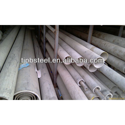 Stainless steel pipe seamless 304 or 316L material