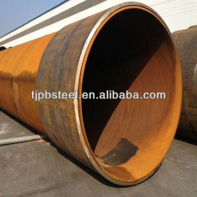 carbon steel pipe with pile shoes for piling