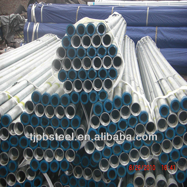 Painted and galvanized LSAW Pipe