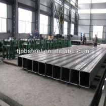 structural steel/square steel pipe/galvanized square steel pipe/competitive price