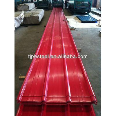 prepainted corrugated galvanized steel sheet roofing sheet