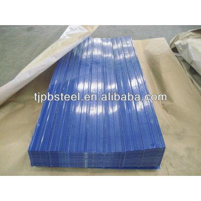 PPGI Corrugated sheet /galvanized color aluminum roofing sheet