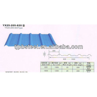 Colored Roofing steel roofing tile